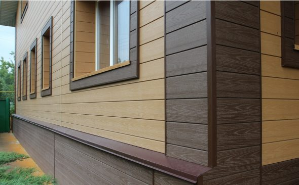 Облицовка древесно-полимерным композитом