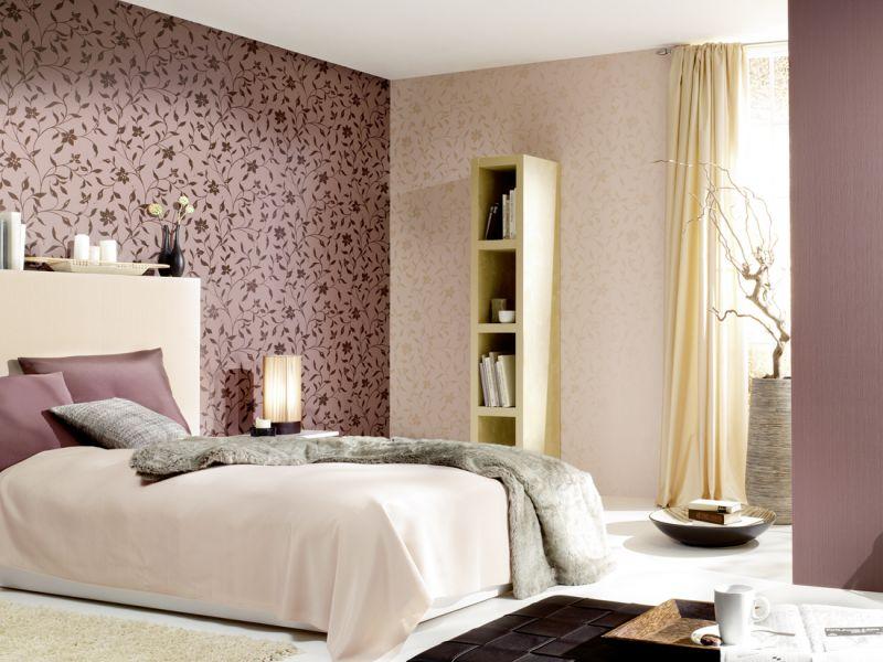 25 способов комбинирования обоев в дизайне спальни