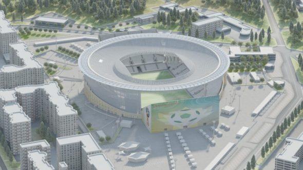 Стадион Центральный в Екатеринбурге