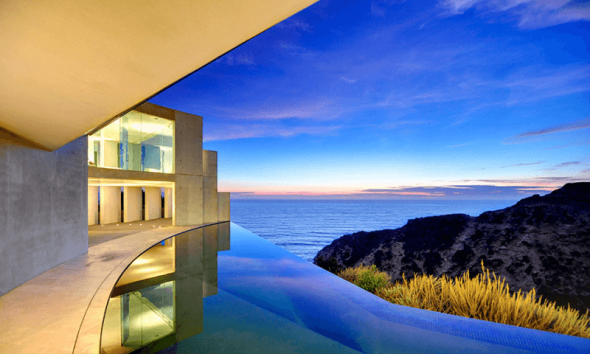 Вид на океан из дома Тони Старка