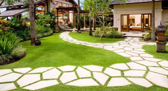 Садовые дорожки из камней