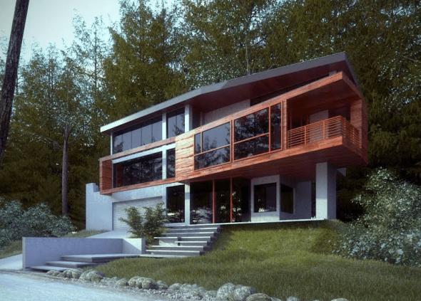 Дом из фильма Сумерки