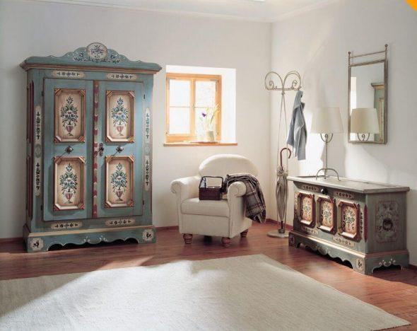 Винтажный декор интерьера