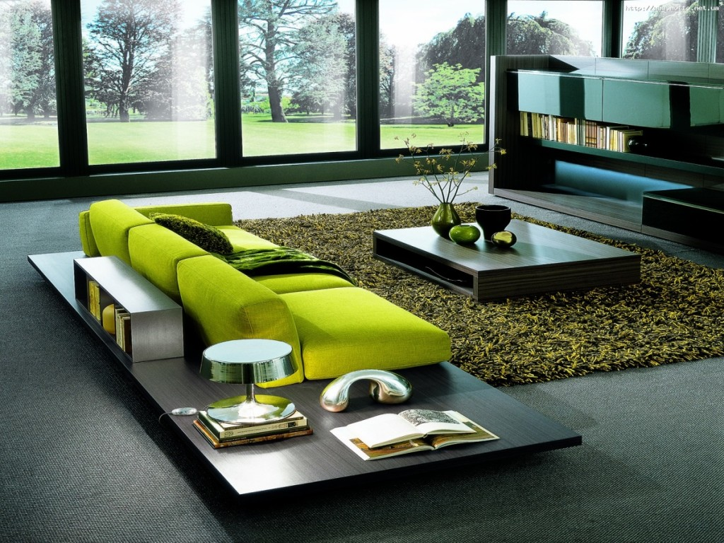30 идей интерьера загородного дома в стиле хай-тек