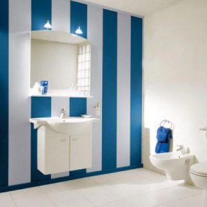 Отделка ванной стеновыми панелями