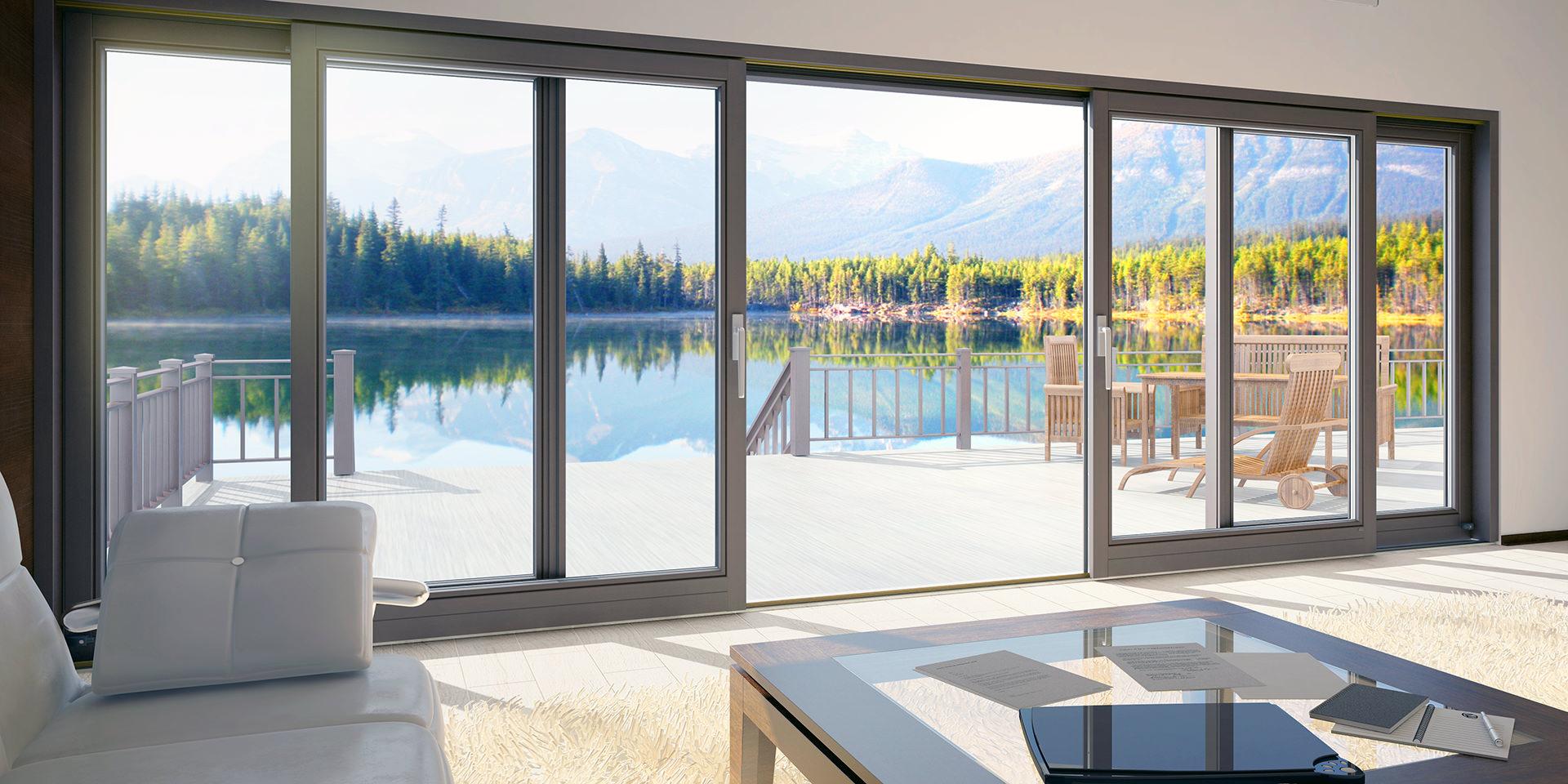 30 красивых домов с панорамными окнами