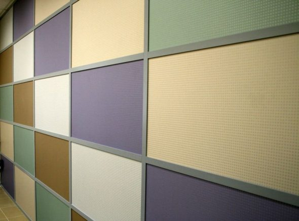Гипсовиниловые панели для отделки стен