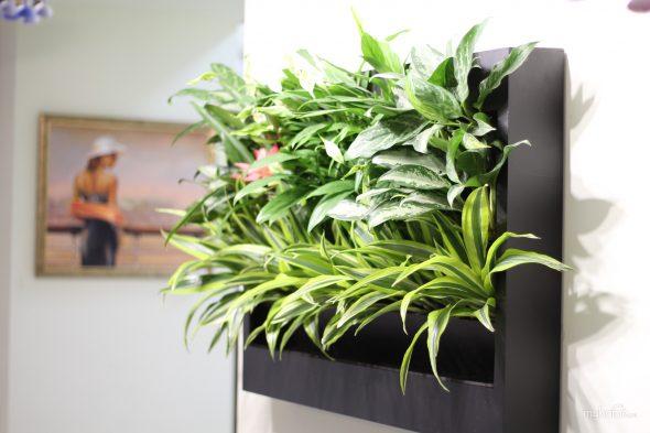 Вертикальный контенер для цветов