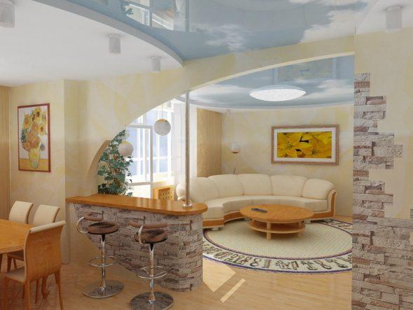 Арка, расширяющая пространство квартиры