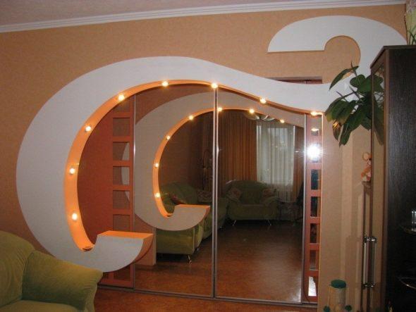 Оригинальная арка с подсветкой