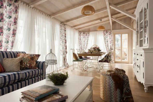 Интерьер дома в стиле прованс