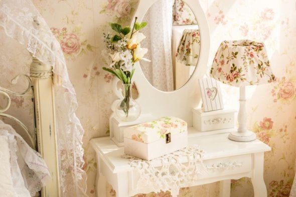 Туалетный столик в стиле прованс