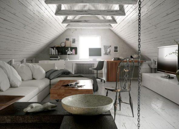 Современный стиль в интерьере загородного дома