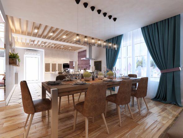 Дизайн столовой в современном стиле