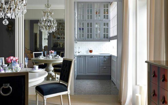 Элементы классики в дизайне кухни