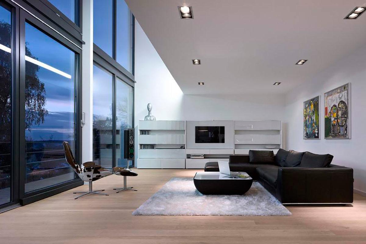 30 идей интерьера загородного дома в современном стиле