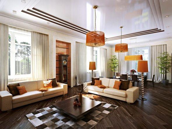 Современный стиль в интерьере дома