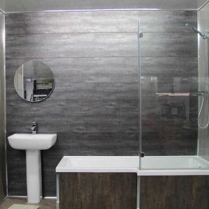 Стеновые панели в интерьере ванной