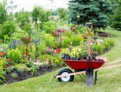 Тележка садовая