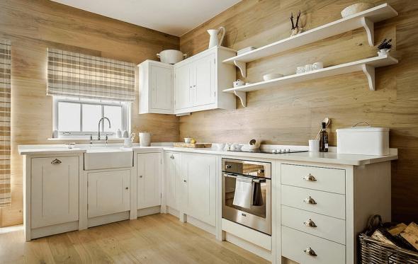 Внутренняя отделка кухни стеновыми панелями