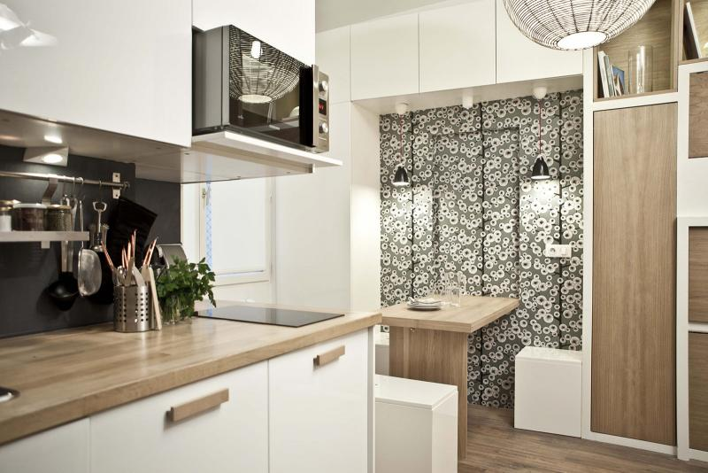 Есть решение: 30 идей дизайна квартиры 18 кв. м