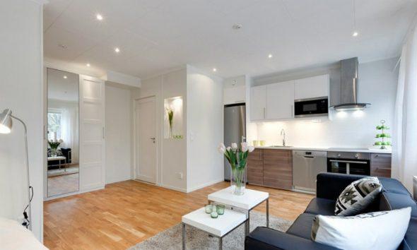 Дизайн однокомнатной квартиры 30 кв м