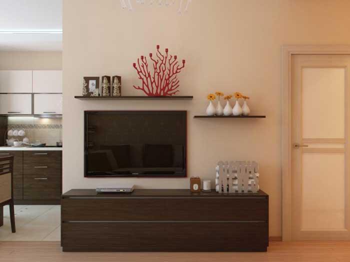 Решение есть: 39 идей дизайна однокомнатной квартиры 38 кв. м.