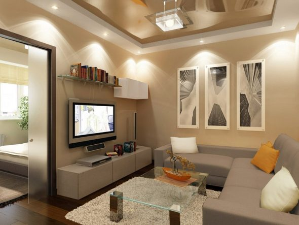 Дизайн двухкомнатной квартиры 40 кв м