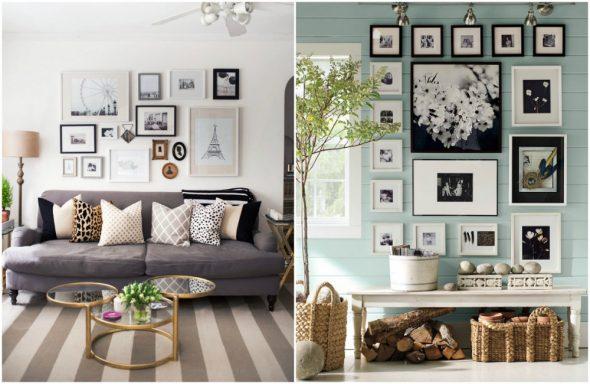 Картины и фото в интерьере квартиры