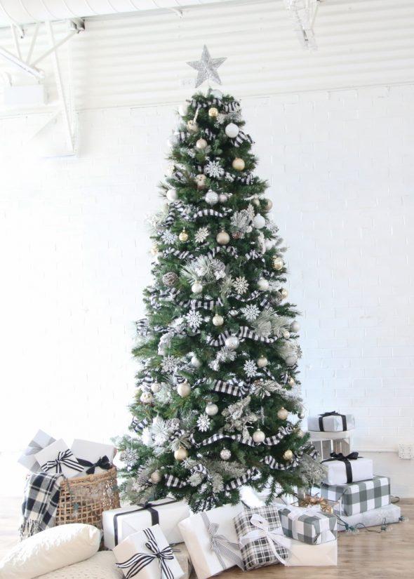 Традиционная новогодняя елка