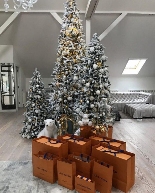 Декор новогодних ёлок