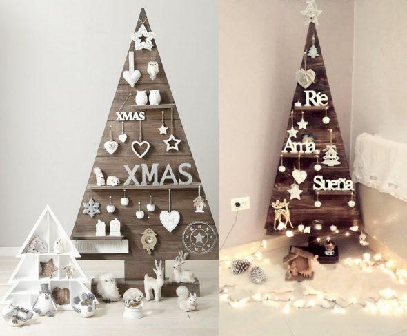 Современные новогодние елки