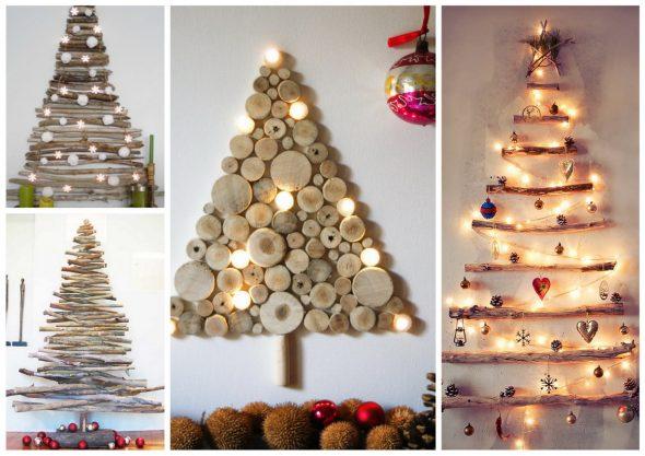 Оригинальные новогодние елки