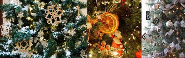 Идеи декора для новогодней елки