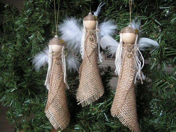 Новогодний декор в этно-стиле