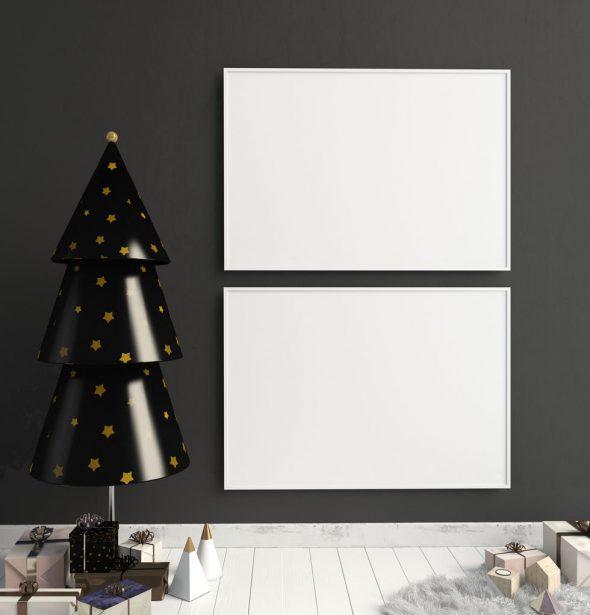 Альтернатива новогодней елке из бумаги