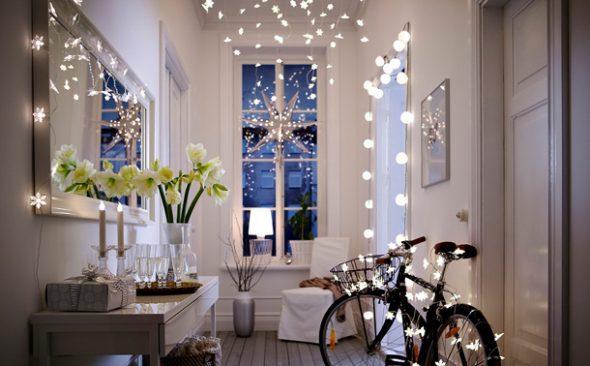 Новогодний декор в скандинавском стиле