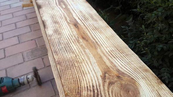 Выровненная древесина