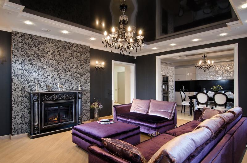 Стиль арт-деко в интерьере квартиры: фото
