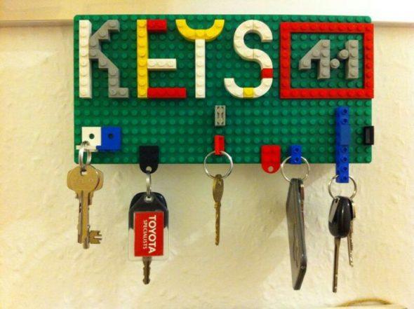 Ключница своими руками из конструктора LEGO
