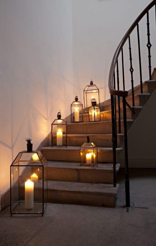 Освещение лестниц