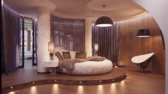 Варианты пола для спальни