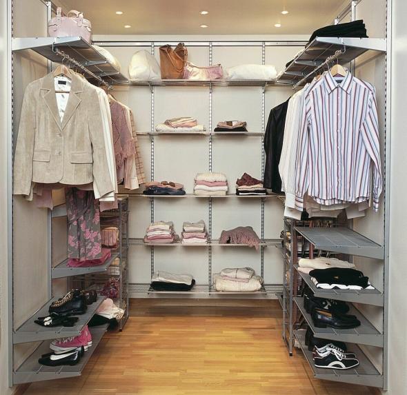Совместная гардеробная
