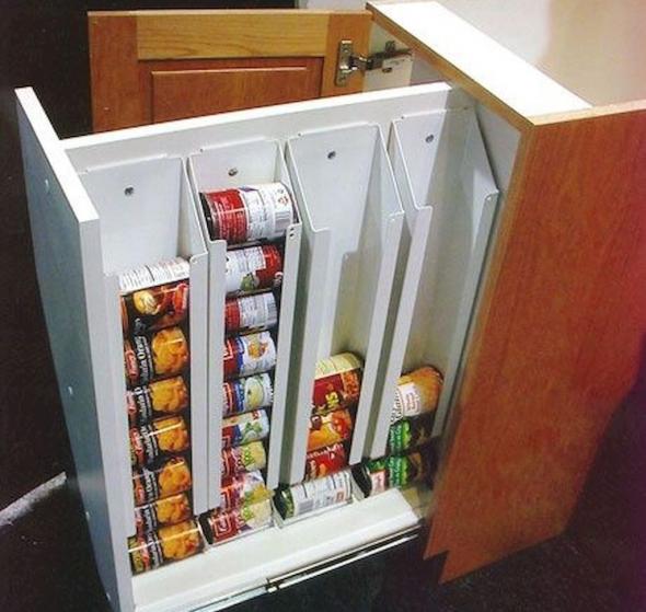 Шкаф для хранения банок
