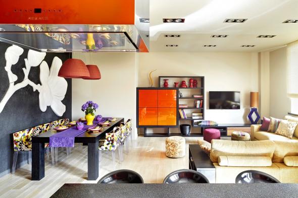 Цветовое несоответствие элементов дизайна помещения