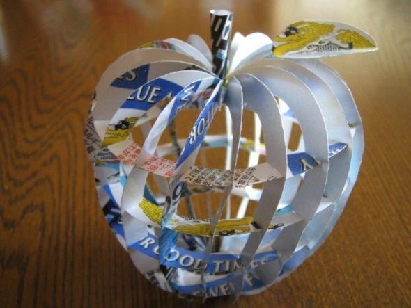 Яблоко из жестяной банки