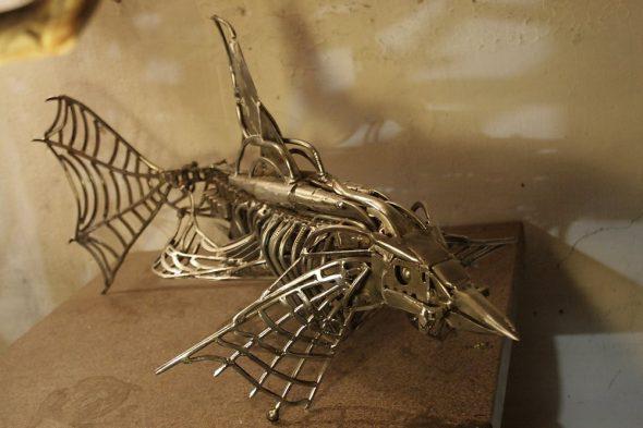 Что можно сделать из металлолома
