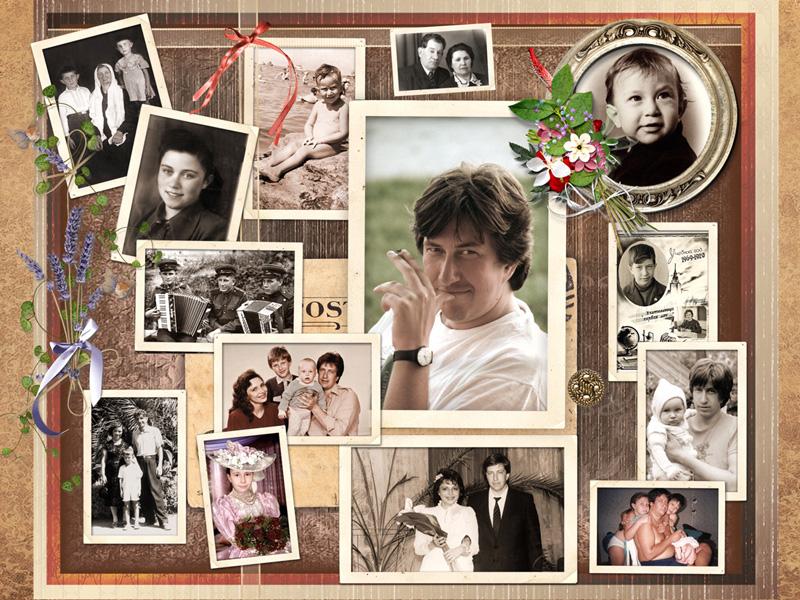 Открытка на день рождения из фотографии в фотошоп, открытки днем
