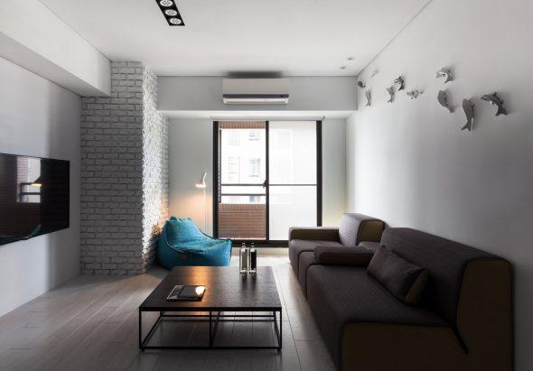 Минимализм в интерьере маленькой квартиры