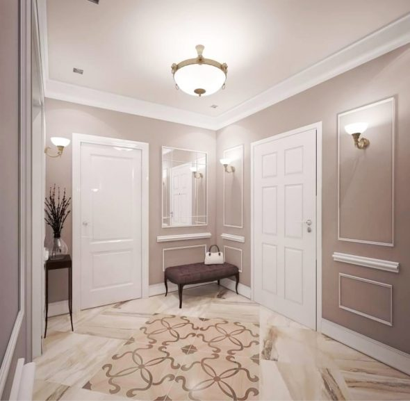 Современный стиль в интерьере маленькой квартиры
